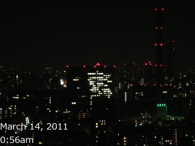 地震の後の都会の灯り・・・_b0190666_11484229.jpg