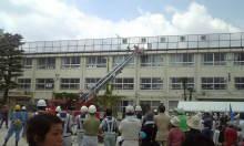 中野区の防災訓練でボランティアをしてきました。_f0121982_164851.jpg