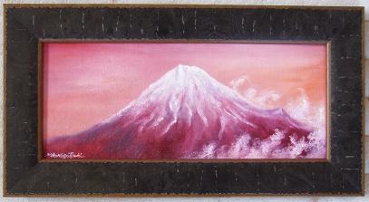 赤富士に希望を乗せて。。。_b0089338_22563435.jpg