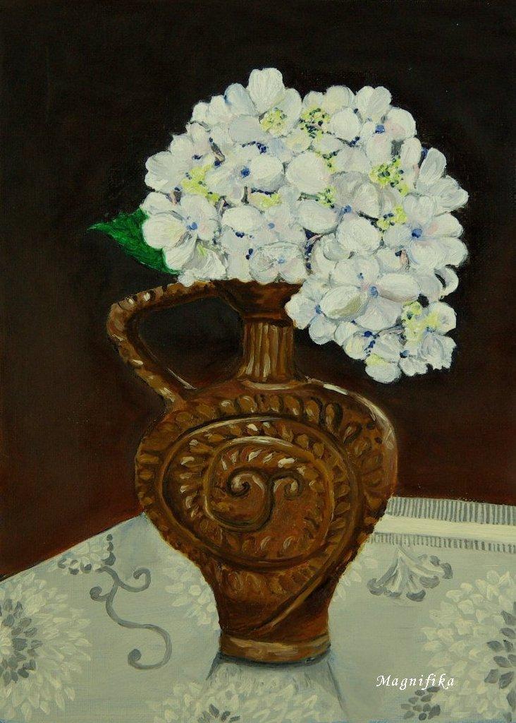 my gallery 25: 白いアジサイ White Hydrangea ©_e0140365_2332665.jpg