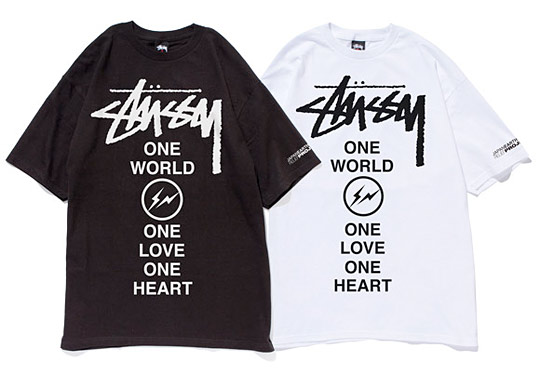 fragment design x Stussy Japan Relief T-Shirt_a0118453_17413956.jpg