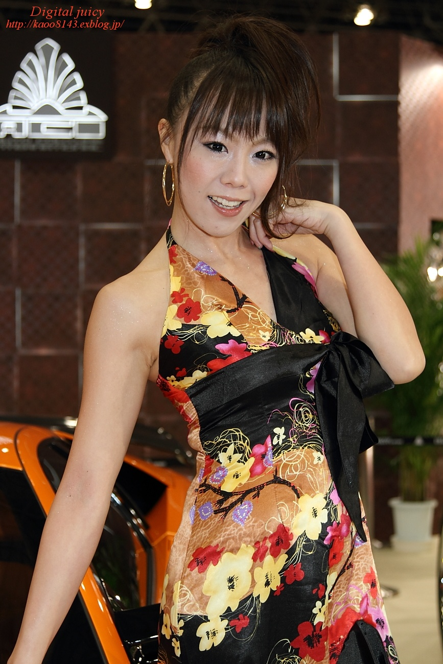 川上朝香 さん(AUTO COUTURE INTERNATIONAL ブース)_c0216181_2244418.jpg