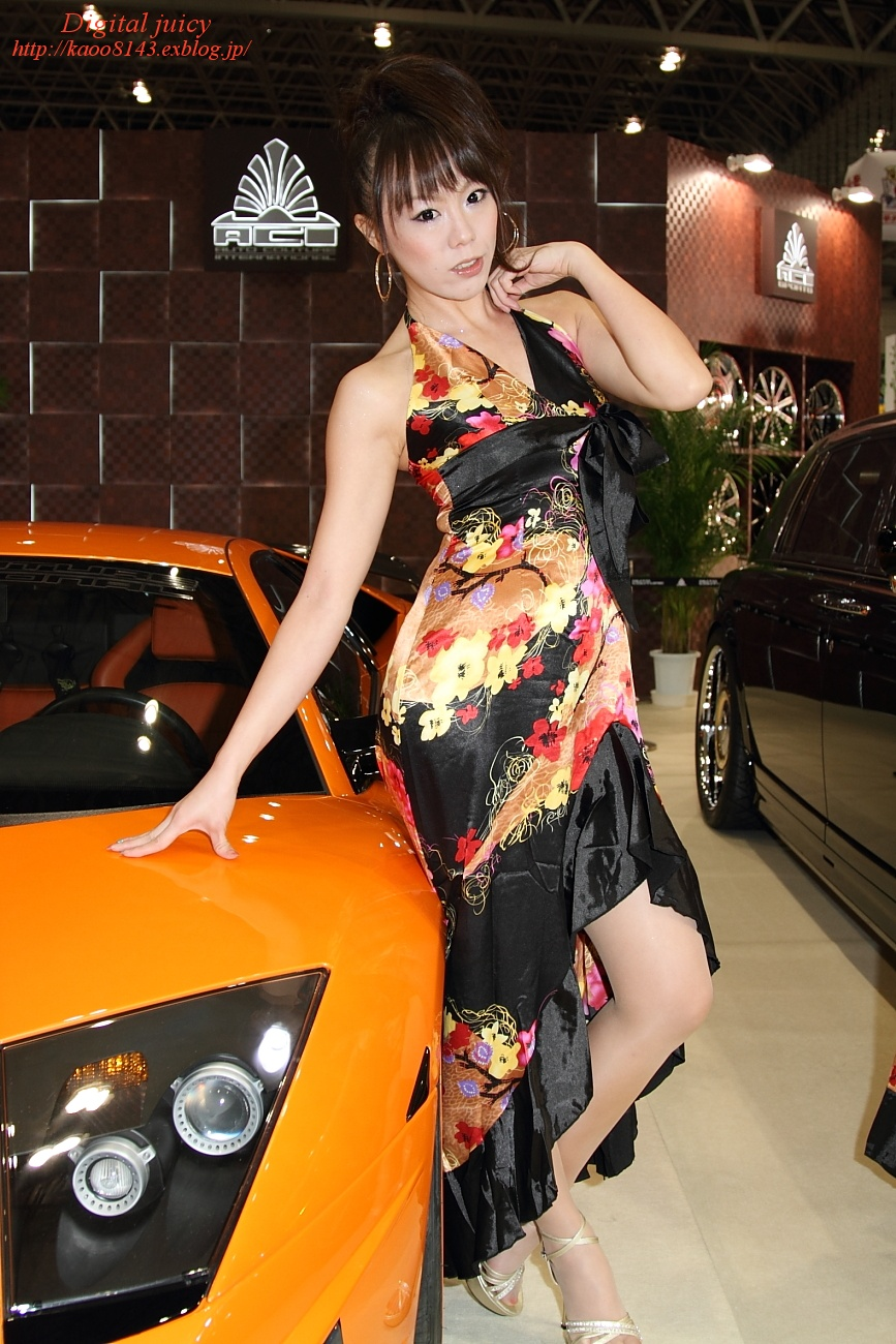 川上朝香 さん(AUTO COUTURE INTERNATIONAL ブース)_c0216181_22444946.jpg