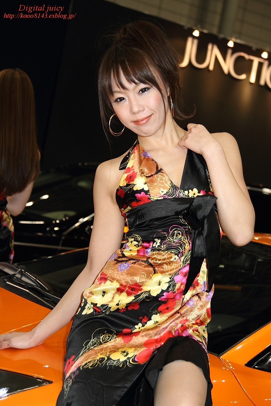 川上朝香 さん(AUTO COUTURE INTERNATIONAL ブース)_c0216181_2245559.jpg