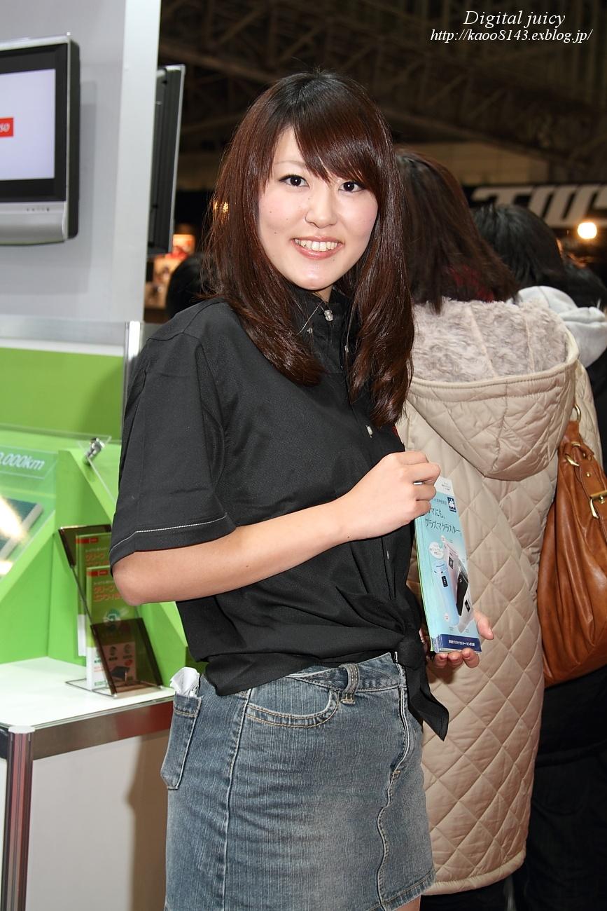 沢麻美 さん(DENSO ブース)_c0216181_2249579.jpg