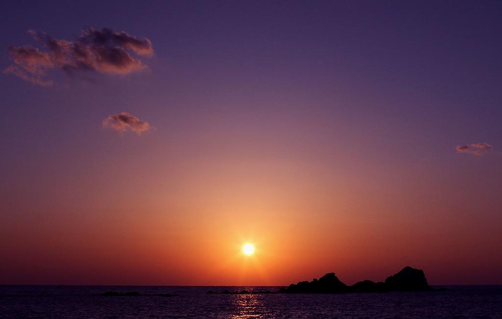 壁島の夕陽_d0074828_23241742.jpg