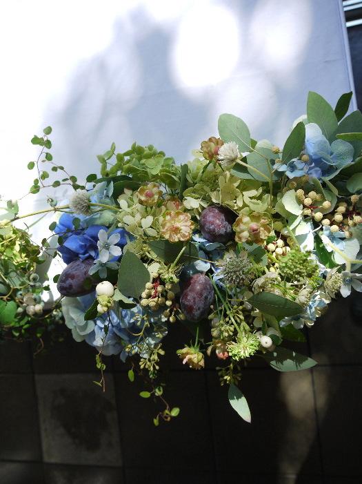 青い花と実もの アンカシェット様へ_a0042928_16492027.jpg
