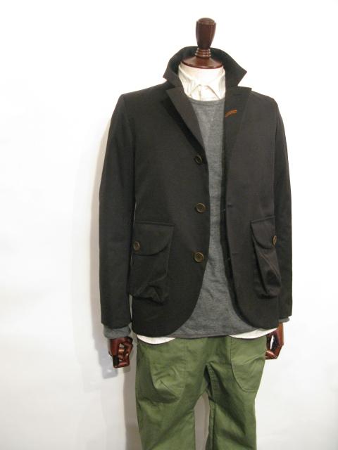 ◆Wax Cotton Jacket_e0142928_19513861.jpg