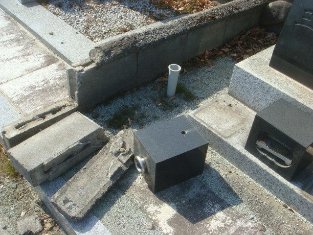 大地震後の お墓状況_e0163145_16461812.jpg