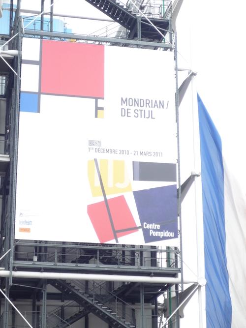 ポンピドー・センター MONDRIAN / DE STIJL &Fracois Morellet展_e0201681_16483531.jpg