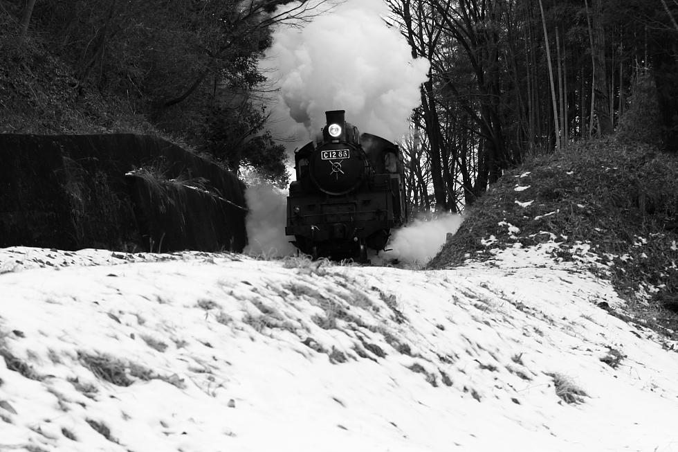 白煙とドレーンと残雪 - 2011冬・真岡 -_b0190710_21294334.jpg