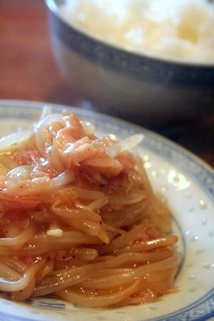 【節電レシピ】もやしとハムの中華風あんかけ_f0141419_10244464.jpg
