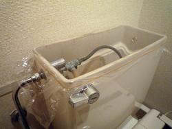 トイレタンクの湿気を_d0126473_20541769.jpg