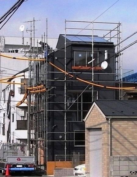 「新井の家」足場ばらし_c0019551_18194394.jpg