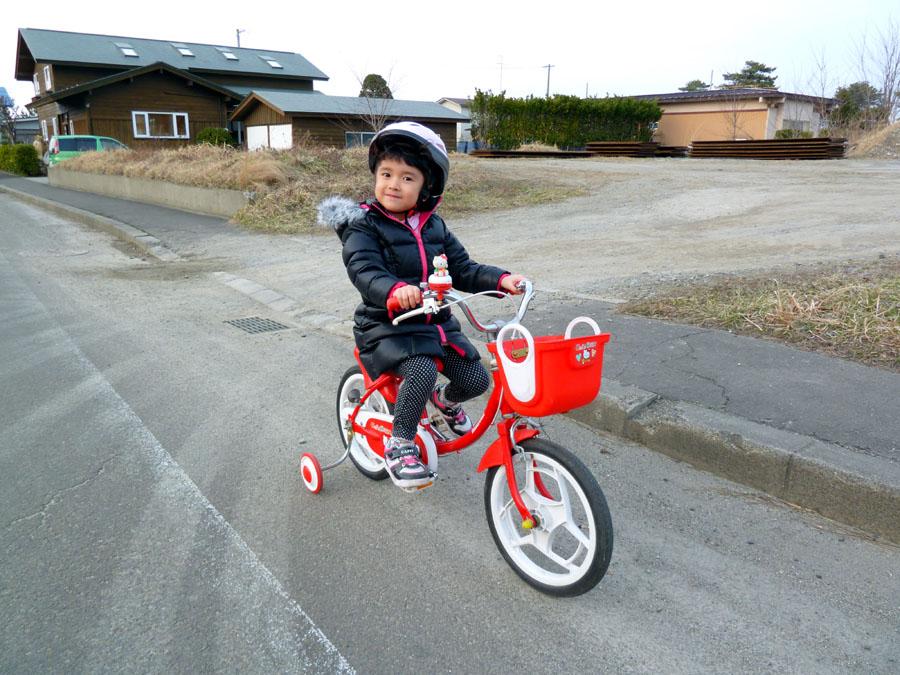 始めての自転車のり!_f0150893_17255647.jpg