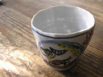 白磁のカップ~。_b0207631_9342367.jpg