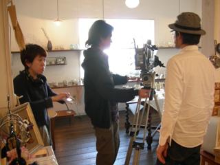 宮崎ケーブルテレビ「街ナビ!」取材の様子_c0156749_1962245.jpg