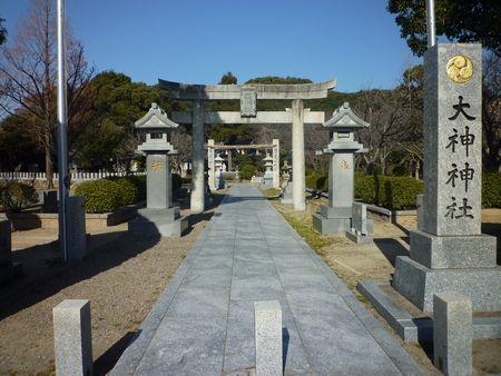 大神神社/軍勢が集まらないのは神の御心のせい_c0222861_16593768.jpg