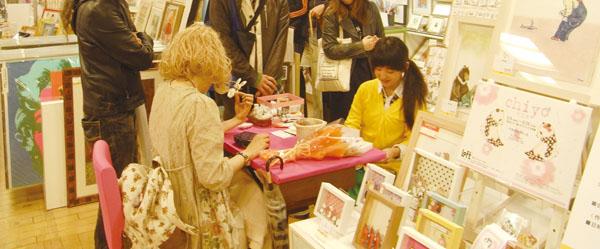 渋谷ロフト展示ありがとうございました&サイン会の様子_f0223074_22334045.jpg