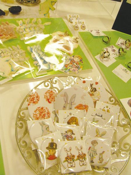 3/23~4/5『Happy Rabbits展』新宿高島屋10F_f0223074_23254777.jpg