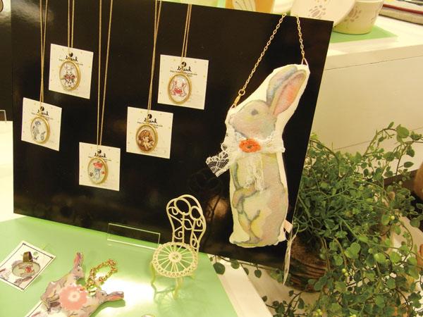 3/23~4/5『Happy Rabbits展』新宿高島屋10F_f0223074_2385539.jpg