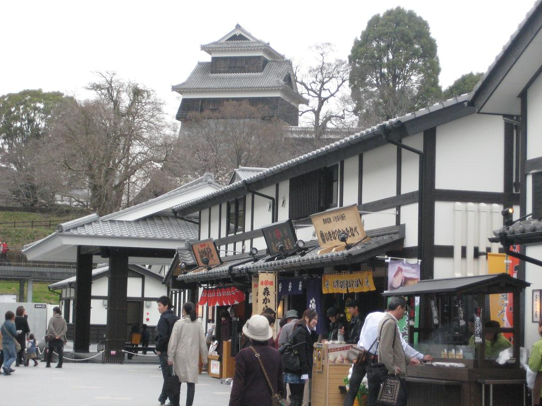 ✾✾✾桜の馬場 城彩苑✾✾✾ 熊本の新名所完成!!!_a0139595_2094392.jpg
