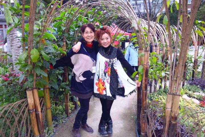 キナコガーデンライブ@台北国際花卉博覧会[五感的庭] その1 _f0115311_2243713.jpg