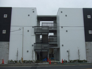 川崎市宮前区 Flats 竣工間近_d0013873_15504059.jpg