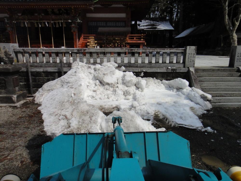融雪作業_c0111229_1728411.jpg