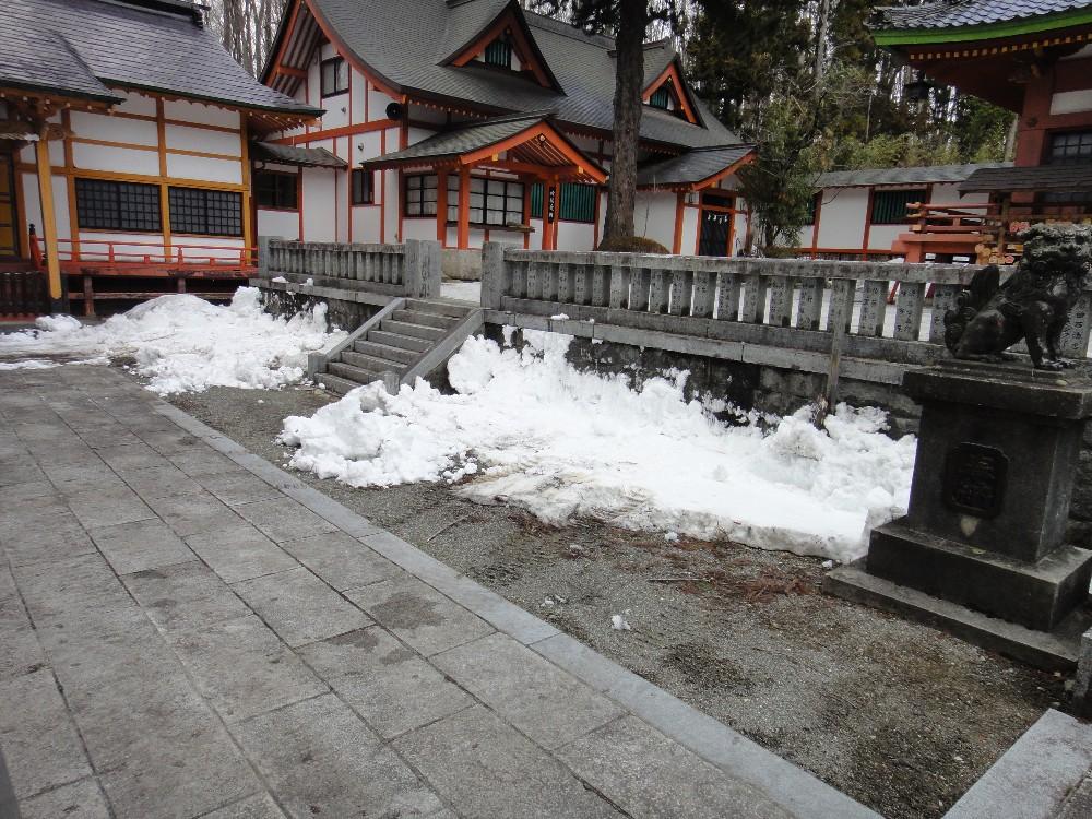 融雪作業_c0111229_17285857.jpg