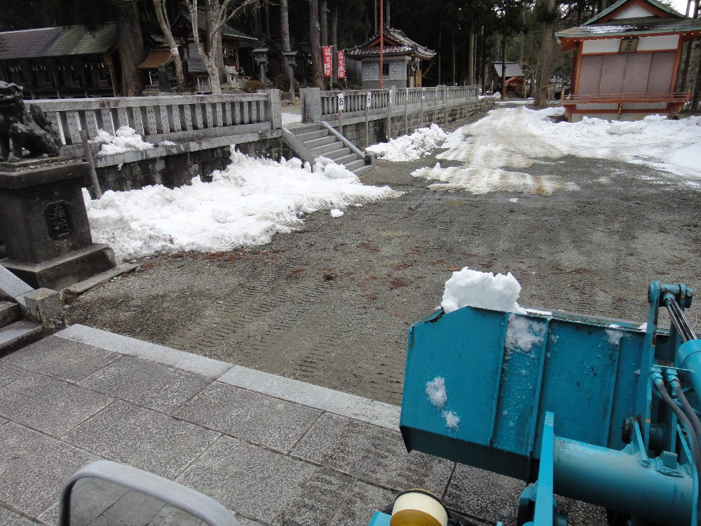 融雪作業_c0111229_1729946.jpg