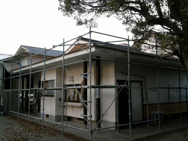 社務所&神楽練習殿の修復_c0045448_11502911.jpg