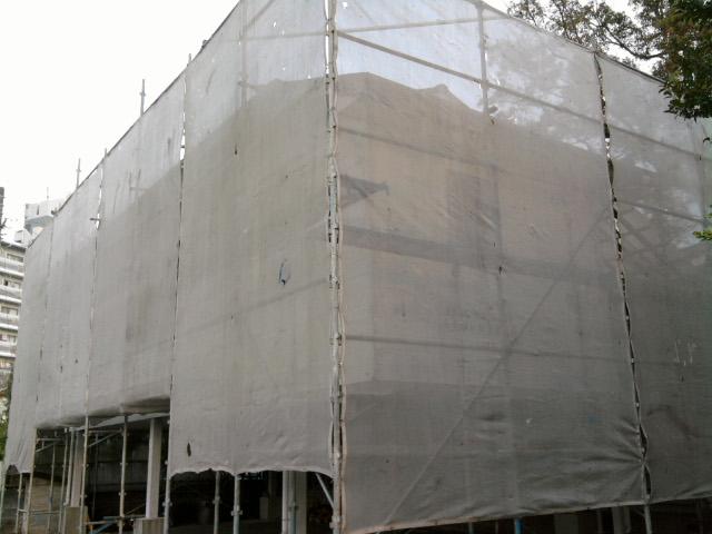 社務所&神楽練習殿の修復_c0045448_11502969.jpg