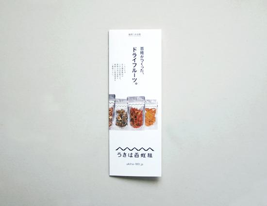 百姓組リーフレットと桃の花見_f0120395_1714484.jpg