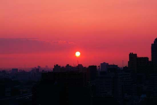 朝日、久しぶりに出ました。_a0155464_653914.jpg
