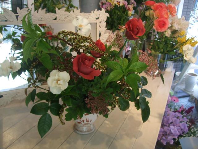 オークリーフ花の教室(3月終わりの土曜日に)_f0049672_19383254.jpg