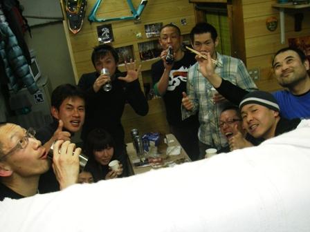 11.03.26(土) キャノンボール打ち上げ_a0062810_145858.jpg