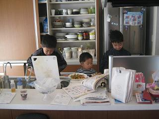 子供たちの手料理_a0139242_6484646.jpg