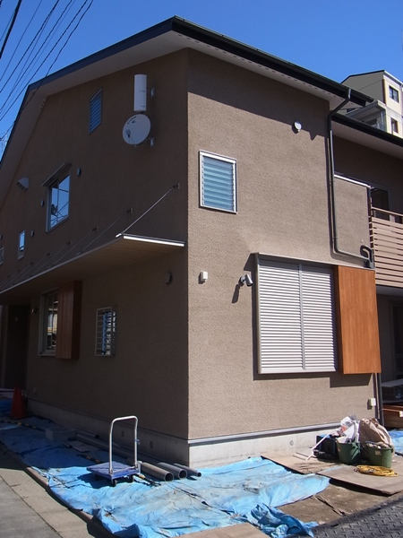 「南小岩の家」完成見学会 本日開催_c0019551_6311525.jpg