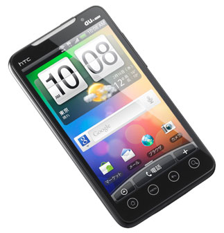 2011/03/27 auスマートフォン+Wimax  HTC EVO_b0171364_14473977.jpg