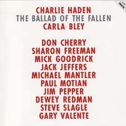 Charlie Haden / The Ballad of the Fallen_d0102724_152111.jpg
