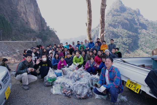 Rock the Clean Project in 比叡 レポート_a0051727_22595076.jpg