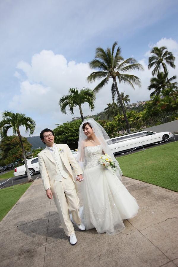 新郎新婦様からのメール ハワイへのプルメリアブーケ_a0042928_2031036.jpg