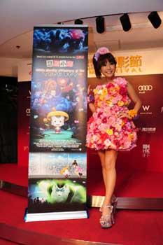 香港国際映画祭ワールドプレミアにはるな愛登壇_e0025035_147862.jpg
