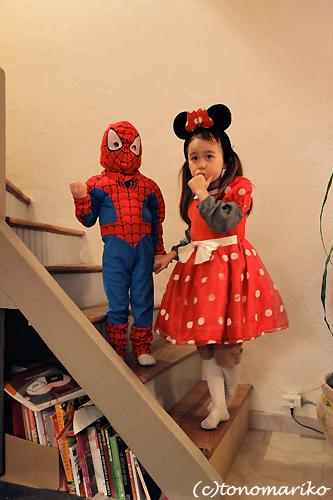 スパイダーマンとウサギ料理_c0024345_045553.jpg