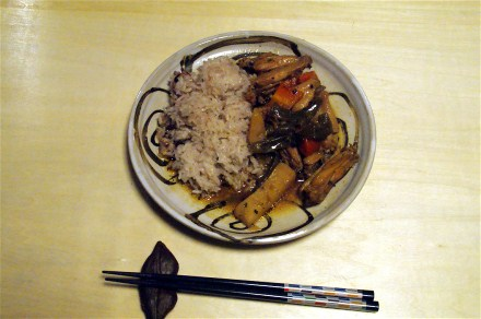 夕飯は手羽のバジル炒め_e0166355_18482996.jpg