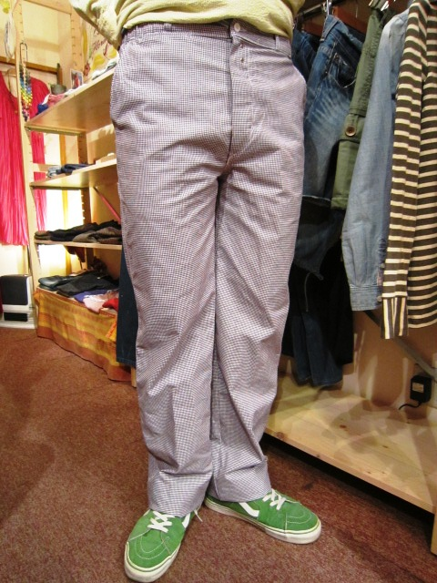 "Vincent et Mireille(バンソン エ ミレイユ) ""HOUNDSTOOTH PANTS\"" 入荷!_f0191324_035164.jpg"