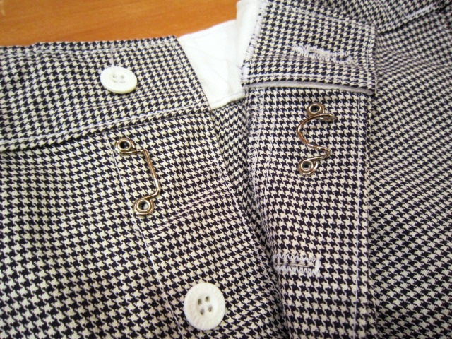 "Vincent et Mireille(バンソン エ ミレイユ) ""HOUNDSTOOTH PANTS\"" 入荷!_f0191324_0412164.jpg"