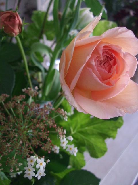 オークリーフ花の教室(加田さんの作品)_f0049672_1444464.jpg
