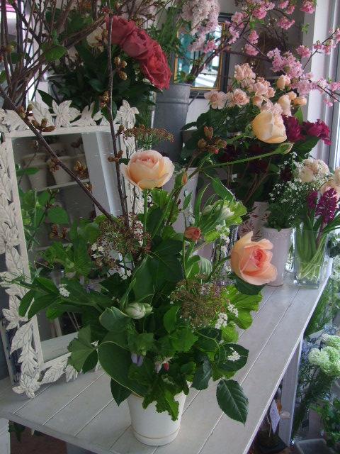 オークリーフ花の教室(加田さんの作品)_f0049672_1465647.jpg